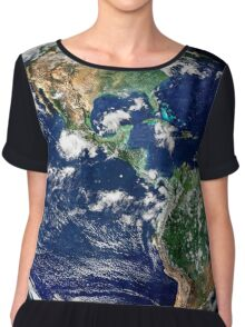 Earth from Space Chiffon Top