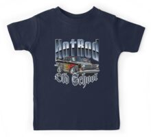 Cartoon Hot Rod Kids Tee