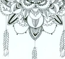Mandala sternum design Sticker