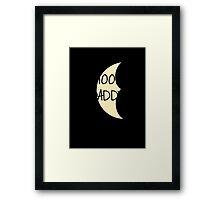 Moon Daddy Framed Print