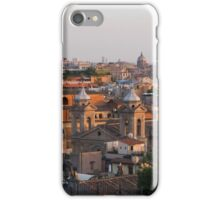 Rome at sunset iPhone Case/Skin