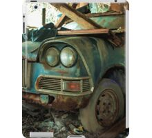 Abandoned Car iPad Case/Skin