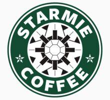 Starmie Coffee - Pokemon Starbucks (white) by TheBlueOwl