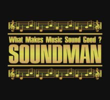 Good Soundman Gold One Piece - Short Sleeve