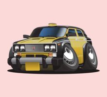 Cartoon taxi car One Piece - Short Sleeve