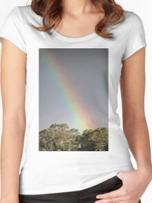 My Rainbow Women's Fitted Scoop T-Shirt