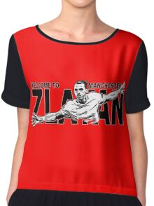 welcome king zlatan Chiffon Top
