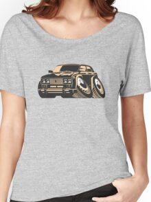 Cartoon car Women's Relaxed Fit T-Shirt