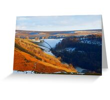 Evening At The Horseshoe Pass Greeting Card