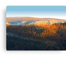 Evening At The Horseshoe Pass 2 Canvas Print