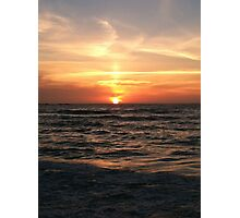 Summer Solstice at Sunset Beach Photographic Print