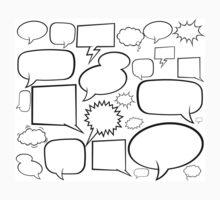 Speech balloons One Piece - Short Sleeve