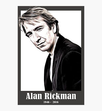 alan rickman Photographic Print