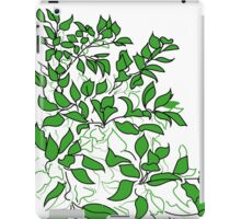 Apple tree leaves iPad Case/Skin