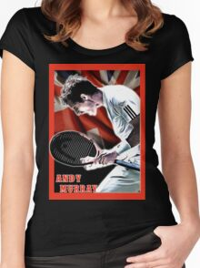 andy murray Women's Fitted Scoop T-Shirt