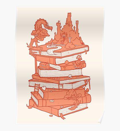 Magic of books Poster