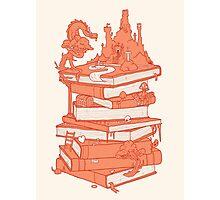 Magic of books Photographic Print