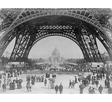 Eiffel Tower - World's Fair 1889  Photographic Print