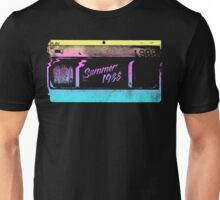 Summer of '88 - VHS Home Video Cassette Tape 1980s Retro Synth 80s Aesthetic Unisex T-Shirt