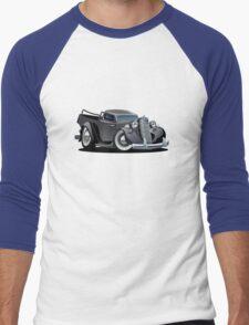 Cartoon retro pickup Men's Baseball ¾ T-Shirt