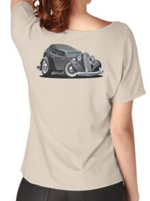 Cartoon retro car Women's Relaxed Fit T-Shirt