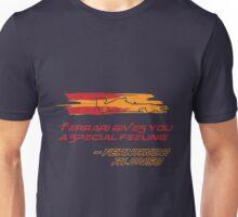 Fernando Alonso Ferrari Unisex T-Shirt