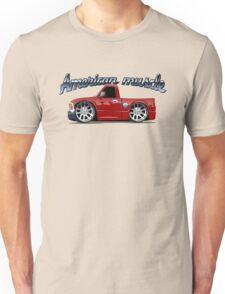 Cartoon muscle car Unisex T-Shirt
