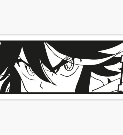 Kill La Kill slap sticker Black Sticker
