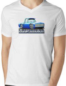 Cartoon lowrider Mens V-Neck T-Shirt