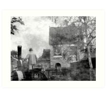 Foundry Alley Art Print