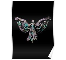 Colourful Clockwork Angel Poster