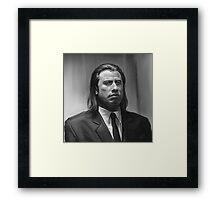 Vincent Vega Framed Print