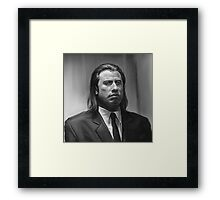 Vincent Vega Framed Print