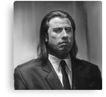 Vincent Vega Canvas Print