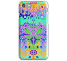 Flowing Life with colour edge framing iPhone Case/Skin