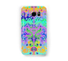 Flowing Life with colour edge framing Samsung Galaxy Case/Skin