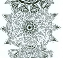 Mandala drawing Sticker