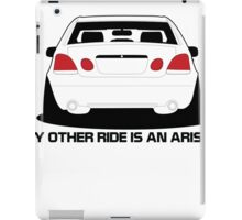 Other Ride is an Aristo iPad Case/Skin