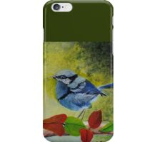 Australian Splendid Fairy Wren iPhone Case/Skin