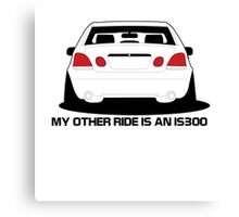 Other Ride is an is300 Canvas Print