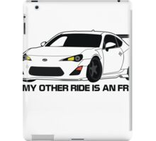 Other Ride is an FRS iPad Case/Skin