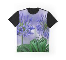 Floral home decoration. Agapanthus 6 Graphic T-Shirt