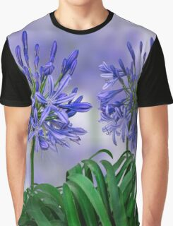 Floral home decoration. Agapanthus 6 Graphic T-Shirt
