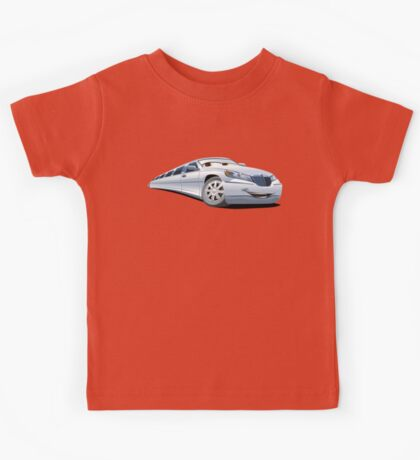 Cartoon Limo Kids Tee