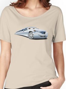 Cartoon Limo Women's Relaxed Fit T-Shirt