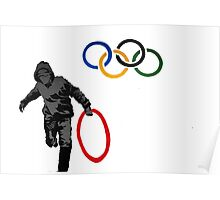 Olympics - Banksy Poster