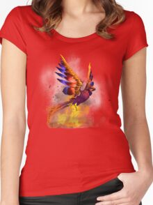 Phoenix Rising  Women's Fitted Scoop T-Shirt