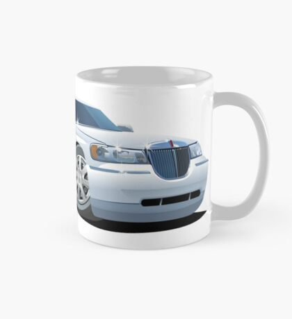 Cartoon limousine Mug