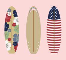 Three surfboards   Baby Tee