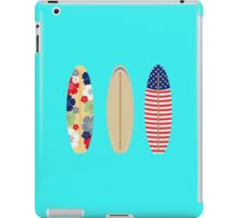 Three surfboards   iPad Case/Skin